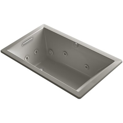 Underscore 60 x 36 Whirlpool Bathtub Finish: Cashmere