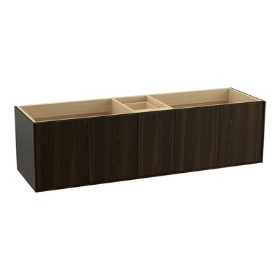 Jute 72 Vanity with 4 Doors and 1 Drawer Finish: Jersey Oak