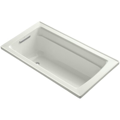 Archer Drop-In Bath with Reversible Drain Finish: Dune