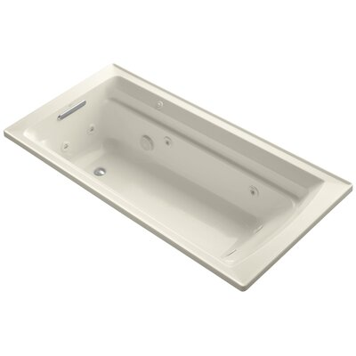 Archer 72 x 36 Whirpool Bathtub Finish: Almond