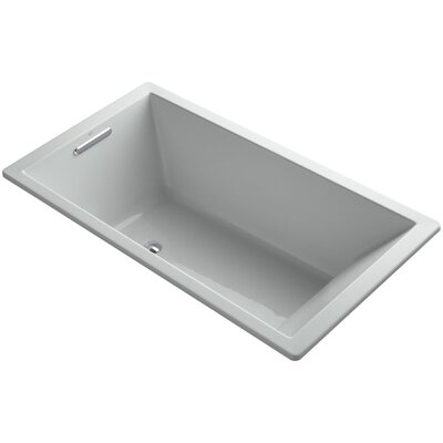 Underscore Vibracoustic 66 x 36 Soaking Bathtub Finish: Ice Grey