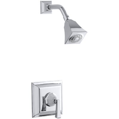 Memoirs Rite-Temp Pressure-Balancing Shower Faucet Trim with Stately Design and Deco Lever Handle Finish: Polished Chrome