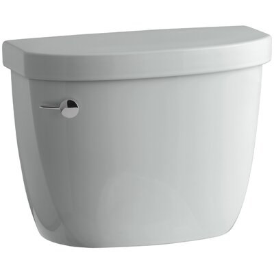 Cimarron 1.28 GPF High Efficiency Toilet Tank with Aquapiston� Flush Technology Finish: Ice Grey