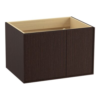 Jute 30 Vanity with 1 Door and 1 Drawer on Right Finish: Laurentii Silk