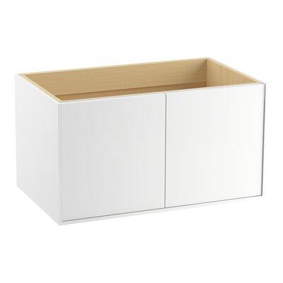 Jute� 36 Vanity with 2 Doors Finish: Linen White
