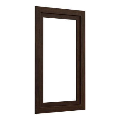 Poplin�/Marabou� Medicine Cabinet Surround, 15 Wide Finish: Ramie Walnut