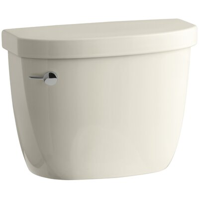 Cimarron 1.28 GPF High Efficiency Toilet Tank with Aquapiston Flush Technology and Tank Locks Finish: Almond