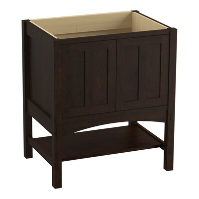 Marabou� 30 Vanity with 2 Doors Finish: Claret Suede