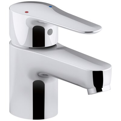 July Single-Handle Commercial Bathroom Sink Faucet with Grid Drain