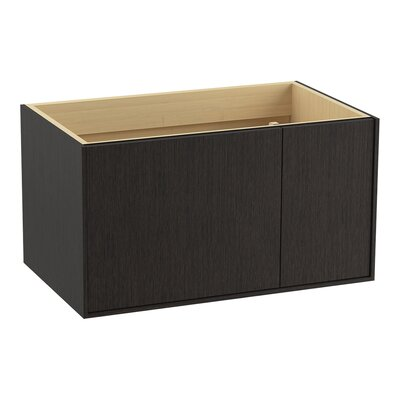 Jute 36 Vanity with 1 Door and 1 Drawer on Right Finish: Satin Oak