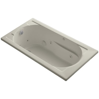 Devonshire Drop-In Whirlpool Reversible Drain and Bask� Heated Surface Finish: Sandbar