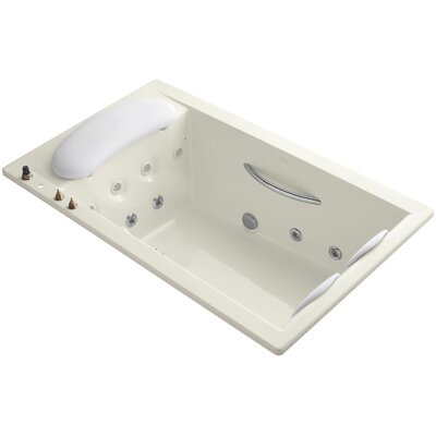 Riverbath Drop-In Whirlpool with Integral Fill and Heater Without Jet Trim Finish: Biscuit