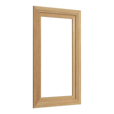 Cheap Damask Medicine Cabinet Surround 15 Wide Finish Khaki White Oak for sale