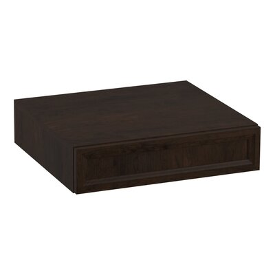 Damask� Lap Drawer Finish: Claret Suede