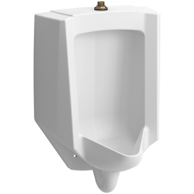 Bardon High-Efficiency Urinal (HEU), Washout, Wall-Hung, 0.13 gpf To 1 gpf Top Spud Finish: White