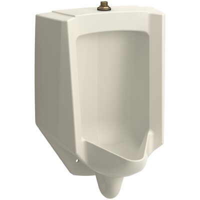 Bardon High-Efficiency Urinal (HEU), Washout, Wall-Hung, 0.13 gpf To 1 gpf Top Spud Finish: Almond