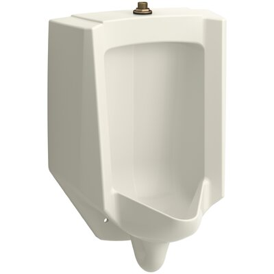 Bardon High-Efficiency Urinal (HEU), Washout, Wall-Hung, 0.13 gpf To 1 gpf Top Spud Finish: Biscuit