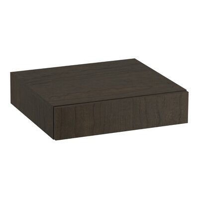 Poplin�/Marabou� Lap Drawer Finish: Felt Grey