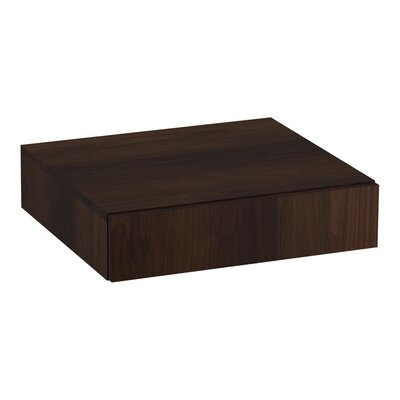 Poplin�/Marabou� Lap Drawer Finish: Ramie Walnut