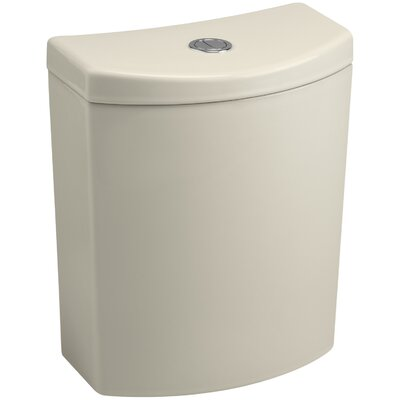 Persuade Curvdual-Flush Tank Finish: Honed White