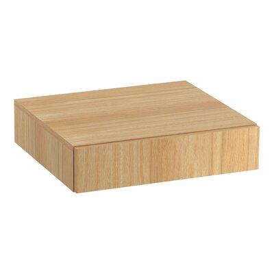 Poplin�/Marabou� Lap Drawer Finish: Khaki White Oak