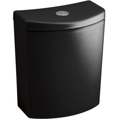 Persuade Curvdual-Flush Tank Finish: Black Black