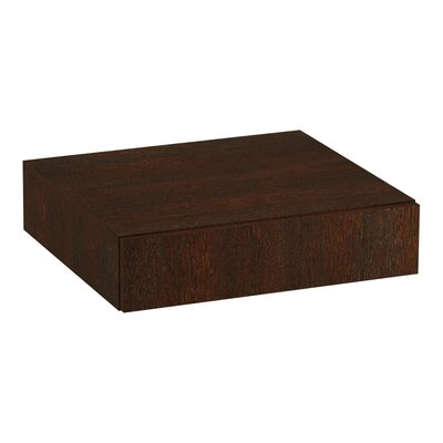 Poplin/Marabou Lap Drawer Finish: Woolen Oak