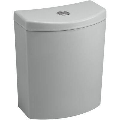 Persuade Curvdual-Flush Tank Finish: Ice Grey