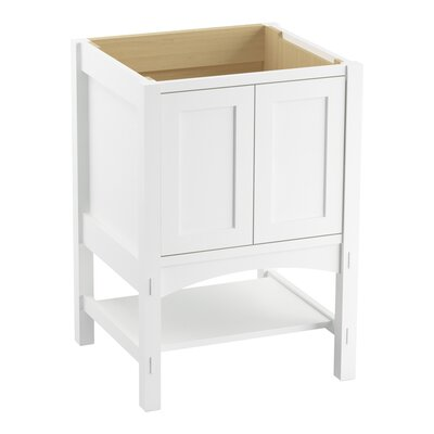 Marabou� 24 Vanity with 2 Doors Finish: Linen White