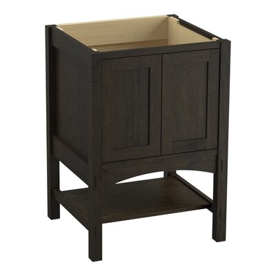 Marabou 24 Vanity with 2 Doors Finish: Felt Grey