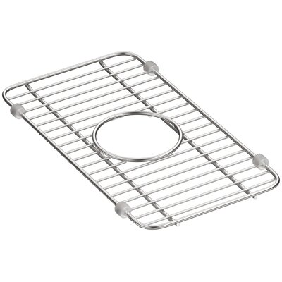 Iron Tones Smart Divide Stainless Steel Small Sink Rack