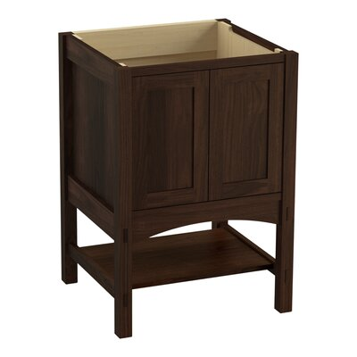 Marabou 24 Vanity with 2 Doors Finish: Ramie Walnut