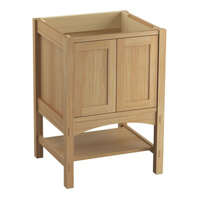 Marabou 24 Vanity with 2 Doors Finish: Khaki White Oak