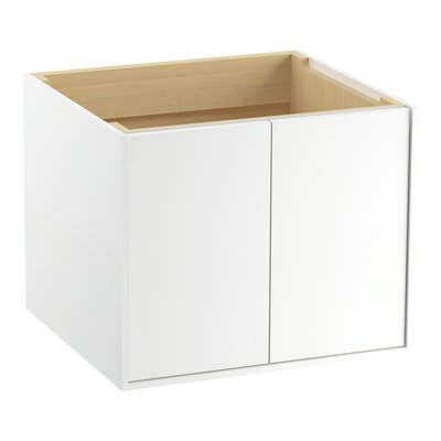 Jute 24 Vanity with 2 Doors Finish: Linen White