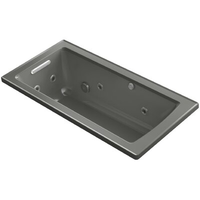 Archer Drop-in Whirlpool and BubbleMassage� Air Bath Finish: Thunder Grey