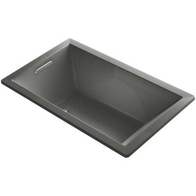 Underscore Vibracoustic 60 x 36 Soaking Bathtub Finish: Thunder Grey