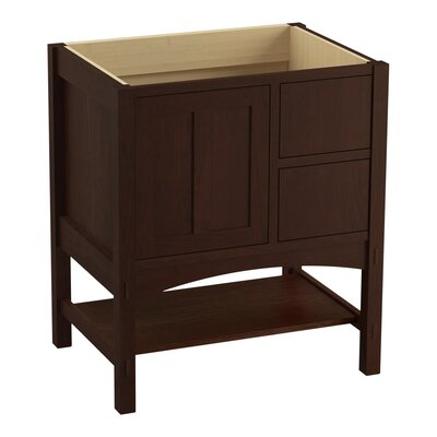 Marabou 30 Vanity with 1 Door and 2 Drawers on Right Finish: Cherry Tweed