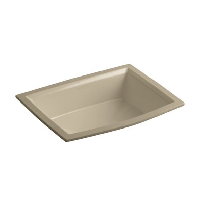 Archer Rectangular Undermount Bathroom Sink Sink Finish: Mexican Sand