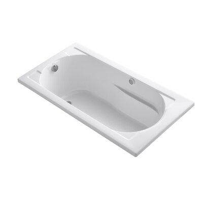 Devonshire 60 x 32 Drop-in BubbleMassage Air Bathtub Finish: White
