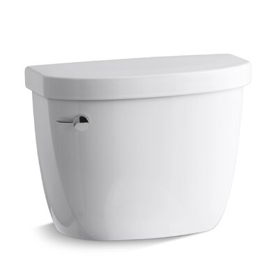 Cimarron 1.28 GPF High Efficiency Toilet Tank with Aquapiston� Flush Technology Finish: White
