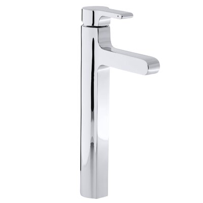 Singulier Tall Single-Hole Bathroom Sink Faucet