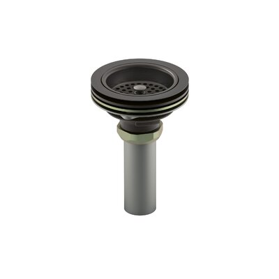 Duostrainer Manual 1.5 Grid Kitchen Sink Drain Finish: Oil Rubbed Bronze