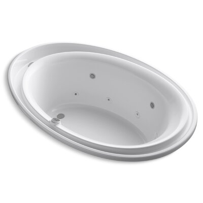 Purist 72 x 46 Whirlpool Bathtub Finish: White