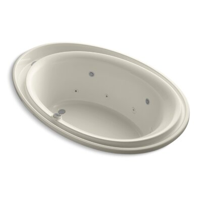Purist 72 x 46 Whirlpool Bathtub Finish: Almond