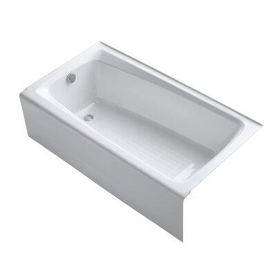 Mendota 60 x 32 Soaking Bathtub Finish: White