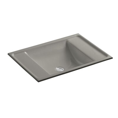 Ledges Rectangular Undermount Bathroom Sink Sink Finish: Cashmere