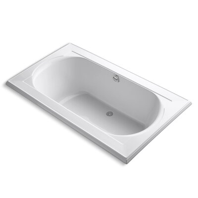 Memoirs 72 x 42 Soaking Bathtub Finish: White