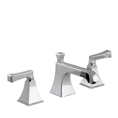 Memoirs Widespread Bathroom Sink Faucet with Deco Lever Handles Finish: Polished Chrome