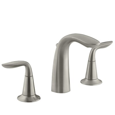 Refinia Widespread Bathroom Sink Faucet Finish: Vibrant Brushed Nickel