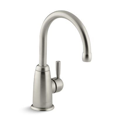 Wellspring Beverage Faucet with Contemporary Design Complete with Aquifer Water Filtration System Finish: Vibrant Brushed Nickel